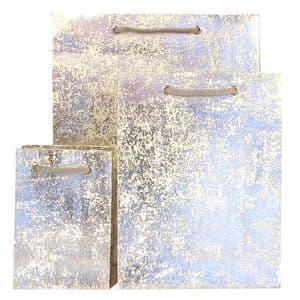 V17657; V17664; V17671 - Silver Crush Gift Bag - GBG171.01 10/PK