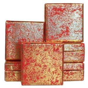 V25690 - Gold Crush on Red Mini Box GBXM171.20/51 12/PK