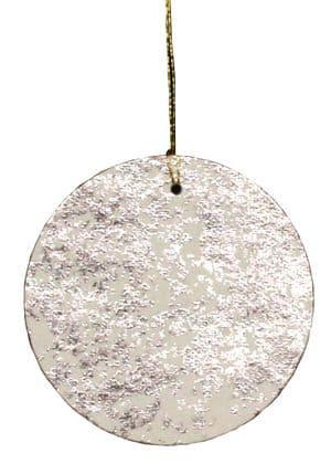 V26888 - Silver Crush Round Tags   GTR171.70/01 12/PK