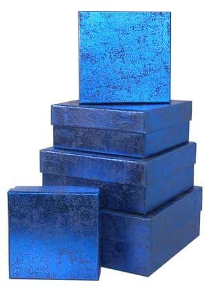 V28851 - Blue Crush Square Nest of Boxes - GBXS171.48/48 1/PK