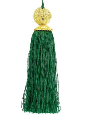 V30168 - Luxury Tassels Green - LUXTT.64 12/PK