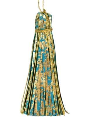 V30205 - Mint on Turquoise Topper Tassels - PTT.43/45 12/PK