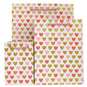 V33251; V33220; V33190 - Mini Heart Bag Pink - GBG163.00/10 10/PK