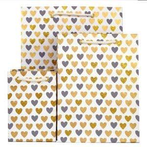 V33268; V33237; V33206 - Mini Heart Bag Grey - GBG163.00/80 10/PK