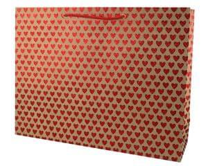 V33282 - Mini Hearts Glitter Red XL Bag - GBG163XL.100/20G 5/PK
