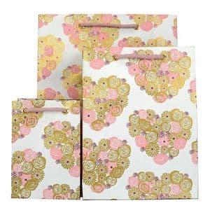 V33367; V33343; V33329 - Pop Heart Bag Pink - GBG199.00/10 10/PK