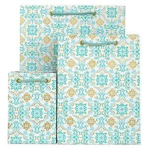 V33589; V33558; V33527 - Boho Tile Bag Mint - GBG258.00/42 10/PK