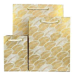 V33909; V33893; V33886 - Gold Leaf Bag - GBG264.00 10/PK