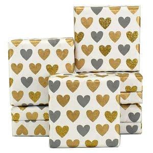 V34029 - Mini Hearts Grey Mini Boxes - GBXM163.00/80 12/PK