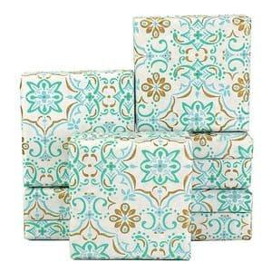 V34050 - Boho Tile Mint Mini Boxes - GBXM258.00/42 12/PK