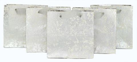 V42147 - Silver Crush Mini Bags s/5 6/PK
