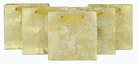 V42154 - Gold Crush Mini Bags s/5 6/PK