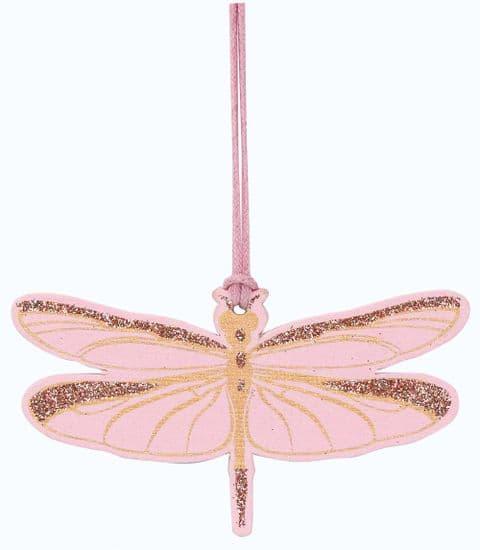V42239 - Dragonfly Pink Tags s/4 12/PK