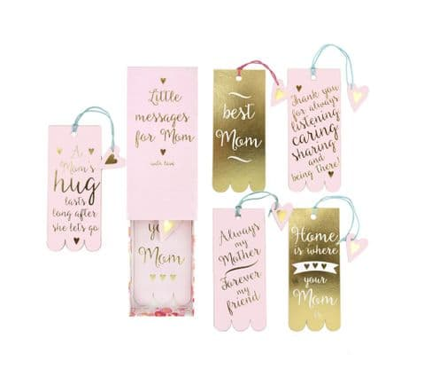 V42383 - Mother's Day Book Marks Set 6/PK
