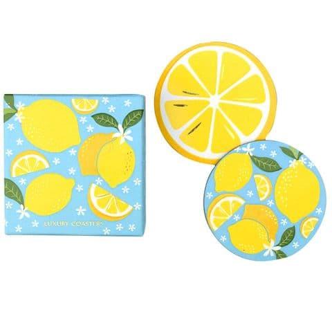 V45629 - Lemons  Coasters S/8 4/PK