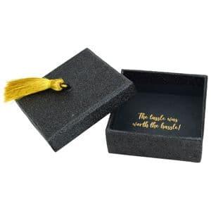 V46206 - Tassel Glitter Mini Gift Box 6/PK