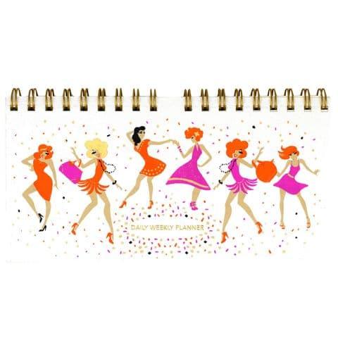 V46466 - Dancers Weekly Planner 4/PK