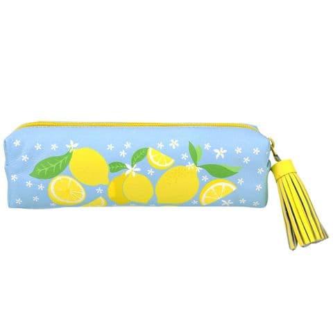 V46480 - Lemons Leather Pouch 4/PK
