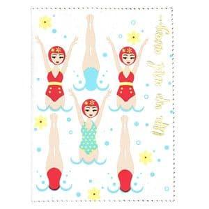 V46718 - Swimmer Passport Cover 4/PK