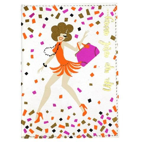V46725 - Dancers Passport Cover 4/PK