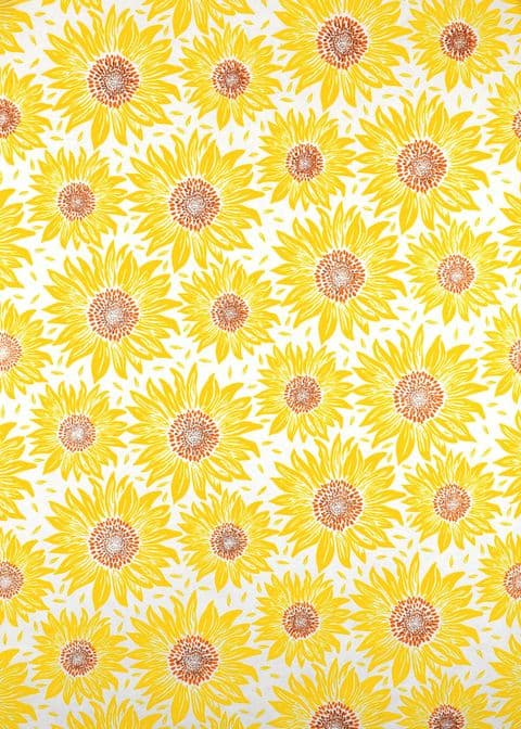 V47029 - Sunflowers Roll Wrap 10/PK