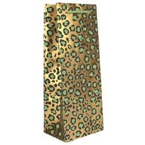 V47647 - All Over Leopard Bottle Bag 10/PK