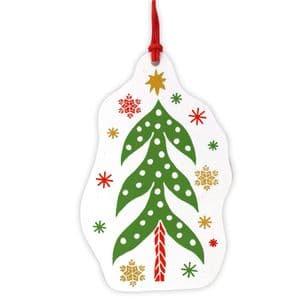 V48057 - Scandi Christmas Tag Set of 4 12/PK