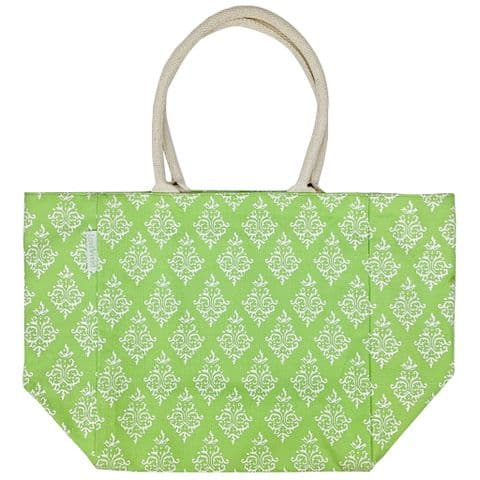 V49177 - Indian Summer Canvas 6 Pocket Tote 4/PK