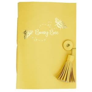 V49269 - Busy Bee Leather Journal 4/PK