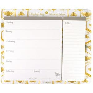 V49283 - Busy Bee Hanging Planner 6/PK
