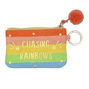 V49351 - Rainbow Canvas ID Holder 6/PK