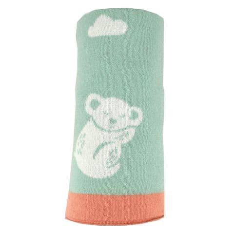 V49375 - Koala Reversible Baby Blanket 2/PK
