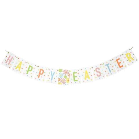 V50753 - Happy Easter Banner - PB2EASTER 12/PK