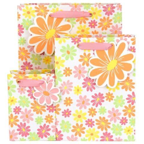 V50791, V50807, V50814 - Ditsy Floral Gift Bag & Tag - GBG475.00 10/PK