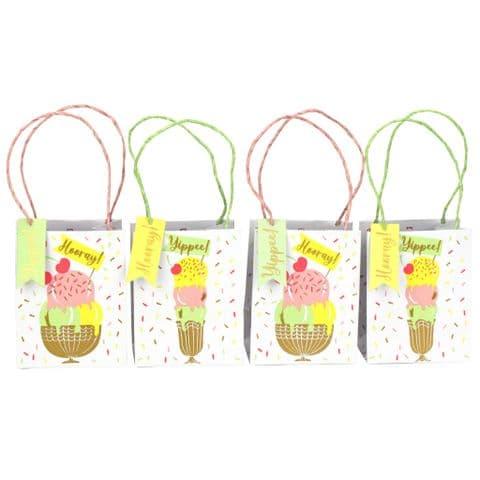 V50869 - Ice Creams Treat Bags S/4 - GBGTREAT470 6/PK
