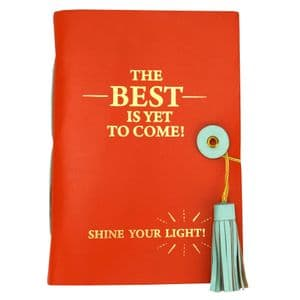 V51378 - Best To Come Leather Journal - LJHC479.20 4/PK
