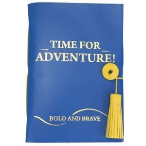 V51385 - Time For Adventure Leather Journal - LJHC479.49 4/PK