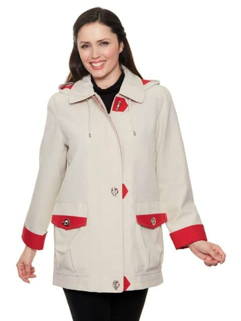 Ladies Lightweight Hooded Jacket db1531
