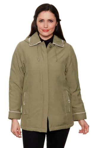 Ladies Mid Weight Padded Jacket db1889