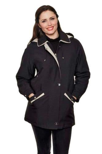 Womens Classic Hooded  Rain Jacket db997