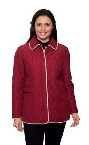 Womens Diamond Stitch Quilted Jacket db502