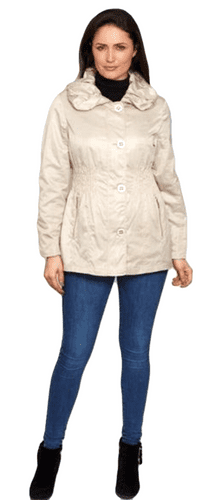 Womens Pretty Ruched  Lightweight Jacket db1529