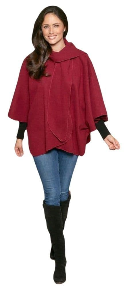 Womens Short Cape and Scarf Lots of Colours! K1336