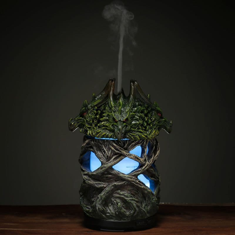 Aroma Diffuser LED Humidifier - Fire Earth Twisted Tree Dragon