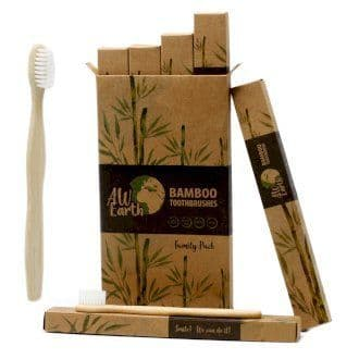 Bamboo Toothbrush & Bamboo Cotton Buds