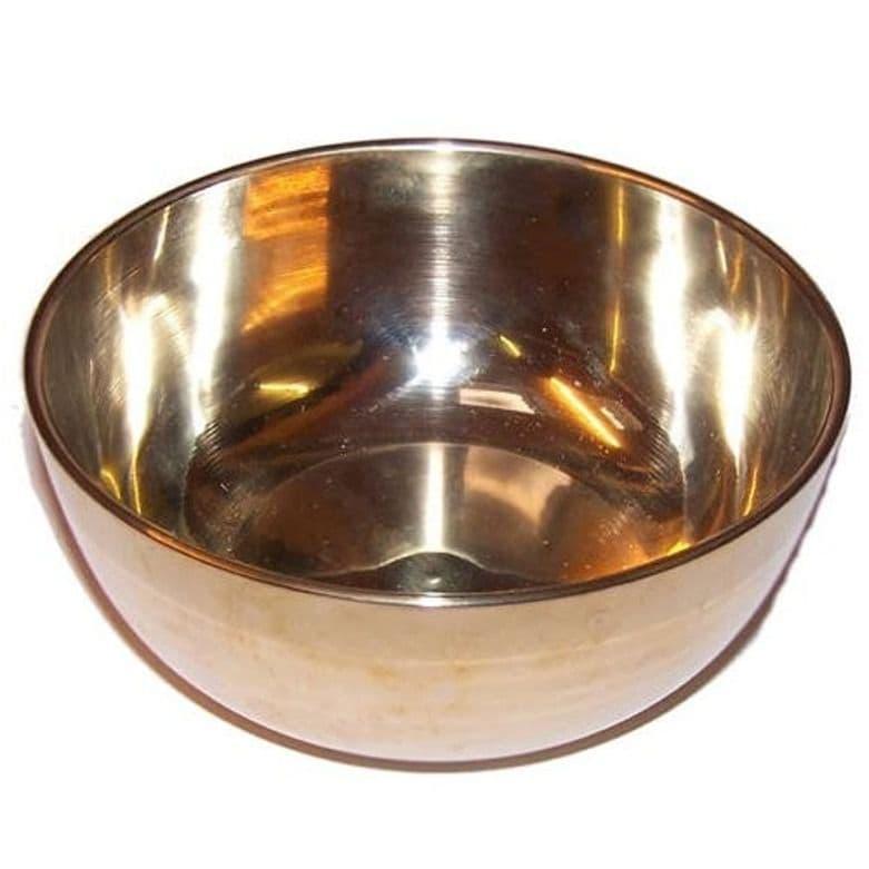 Brass Singing Bowl - Large - Approx 17cm