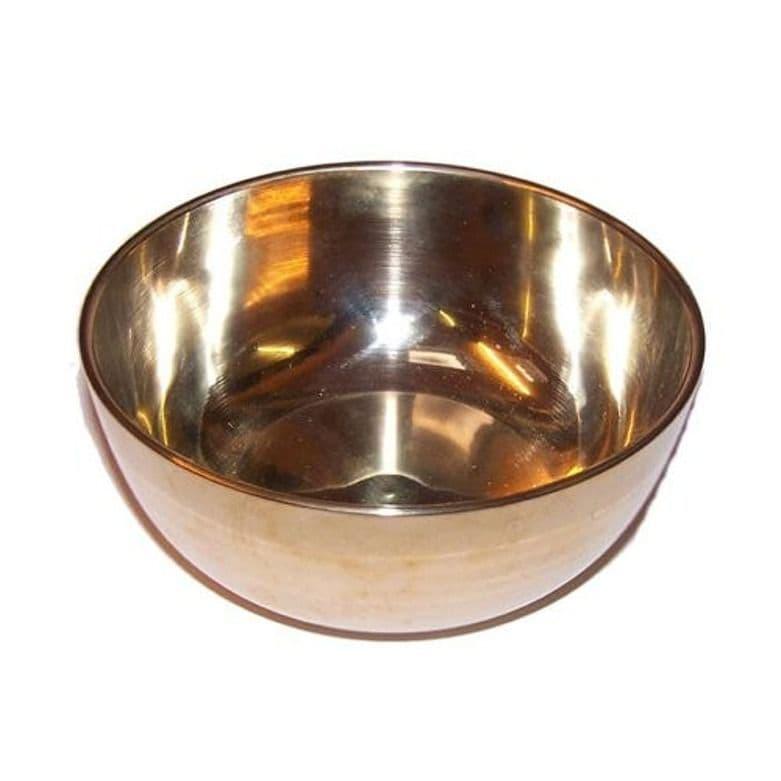 Brass Singing Bowl - Medium - Approx 12cm