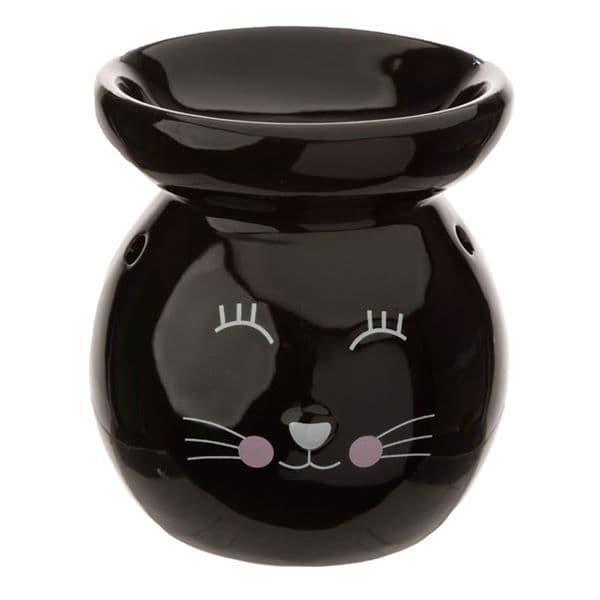 Cat Oil Burner Black
