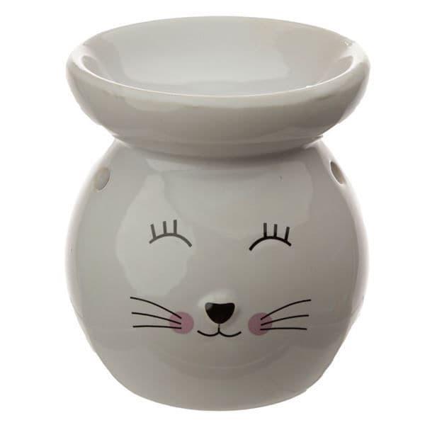 Cat Oil Burner White
