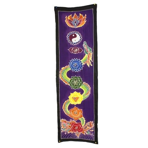 Chakra Drop Banner - Dragon 175x53cm